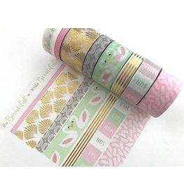 Washi Tape Set Swans