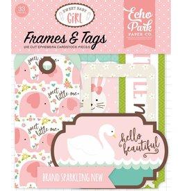 edding Sweet Baby Girl Frames & Tags Ephemera