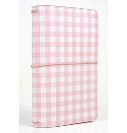 Echo Park Echo Park - Travelers Notebook - Rosa Gingham