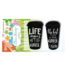 Clear Stamps Sets Coffee Cup
