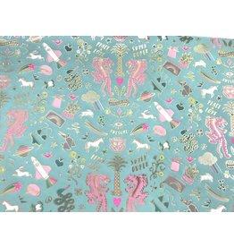 1 Bogen Paper Patch Papier WONDERLAND 30x42cm