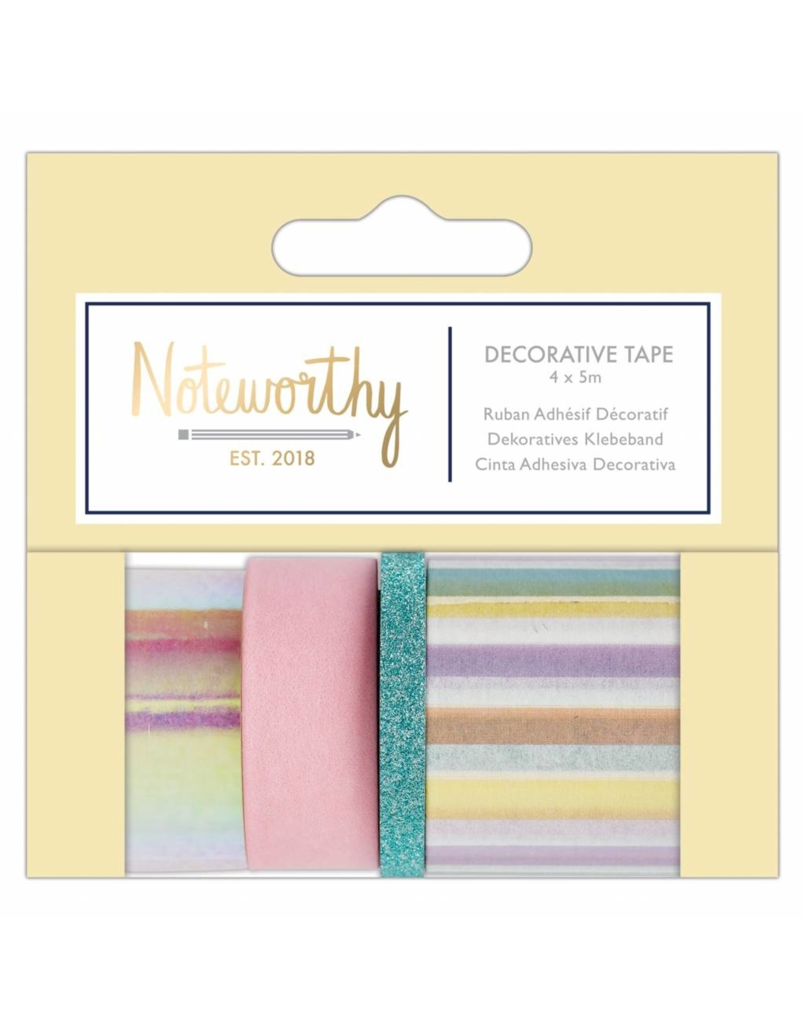 Washi Tape Set Noteworthy Pastell