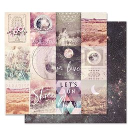 Prima Marketing Prima Marketing Moon Child 12x12 Inch Sheet In Love With The Moon