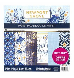 Craft Smith Craft Smith Newport Grove Paper Pad 12x12
