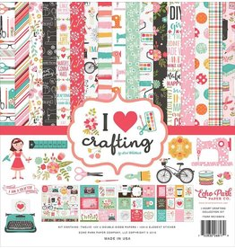 Echo Park I love crafting 12x12 Collection Kit