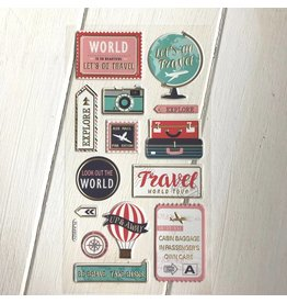 Softy Sticker Travel