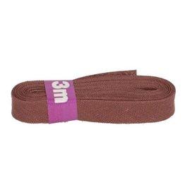 3m Schrägband aus Baumwolle 12mm Weinrot