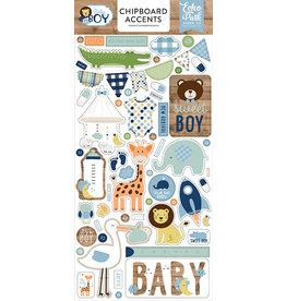 Echo Park Baby Boy Chipboard Accents