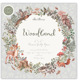 Craft Consortium Woodland Premium Papers 6x6 Inch