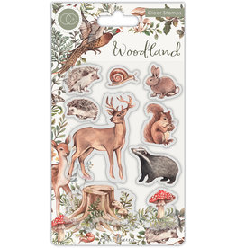 Craft Consortium Woodland Animals Clear Stamps