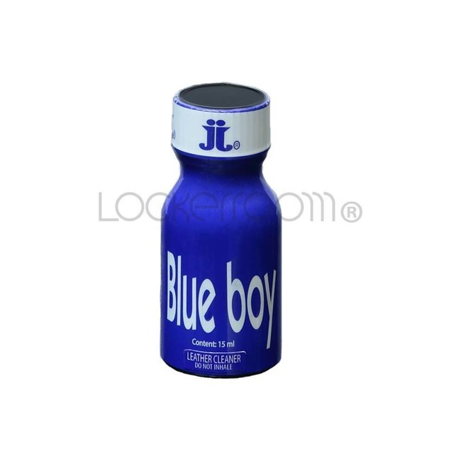 Lockerroom Poppers Blue Boy 15ml - BOX 24 botellas