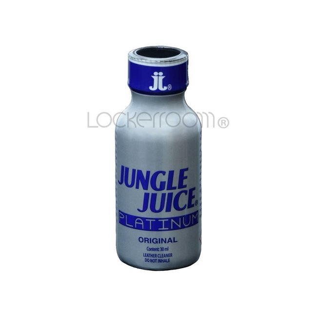 Lockerroom Poppers Jungle Juice Platinum 30ml - BOX 12 bouteilles