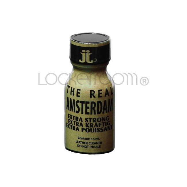 Lockerroom Poppers The Real Amsterdam 10ml - BOX 24 bouteilles