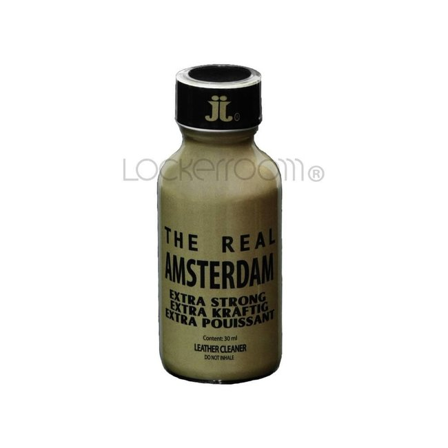 Lockerroom Poppers The Real Amsterdam 30ml - BOX 12 bouteilles