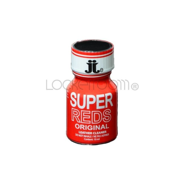 Lockerroom Poppers Super Reds 10ml - BOX 24 bouteilles