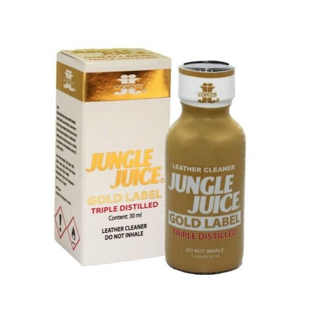 Lockerroom Poppers Jungle Juice Gold Label 30ml - BOX 12 bouteilles