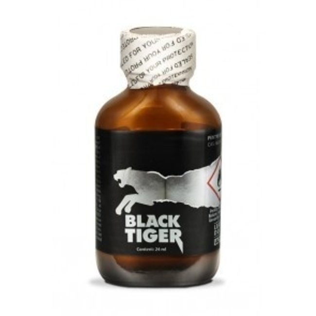 Poppers Black Tiger Silver 24ml – BOX 24 bouteilles