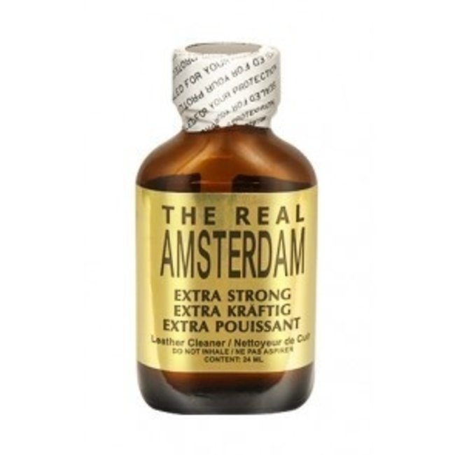 Poppers The Real Amsterdam 24ml – BOX 24 bouteilles