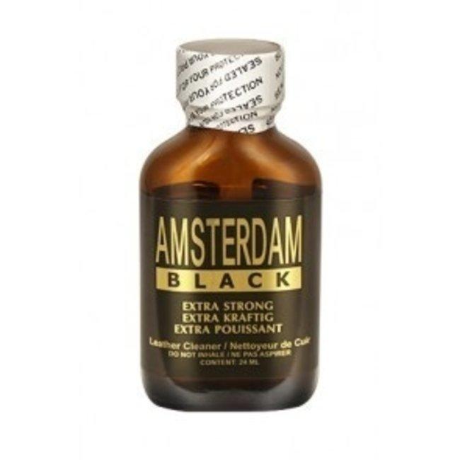 Poppers Amsterdam Black 24ml – BOX 24 bottles