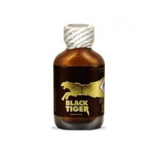 Poppers Black Tiger Gold Edition 24ml – BOX 24 fiale