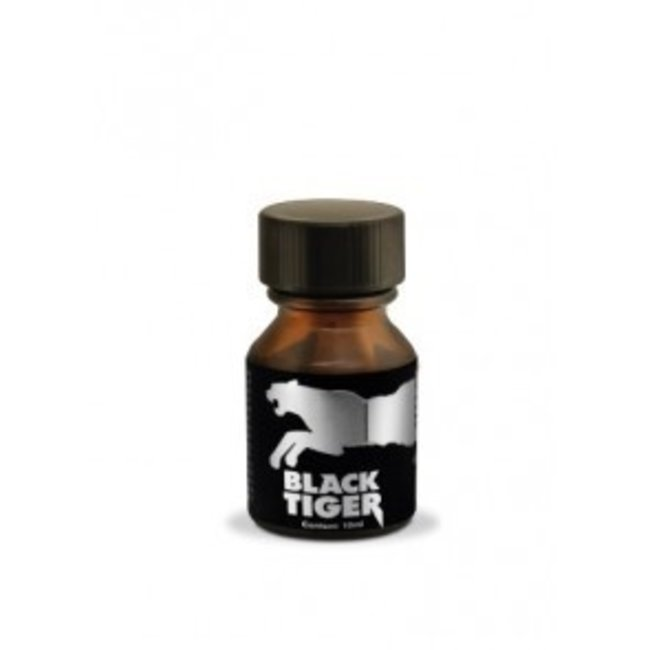 Poppers Black Tiger Silver 10ml – BOX 18 bouteilles