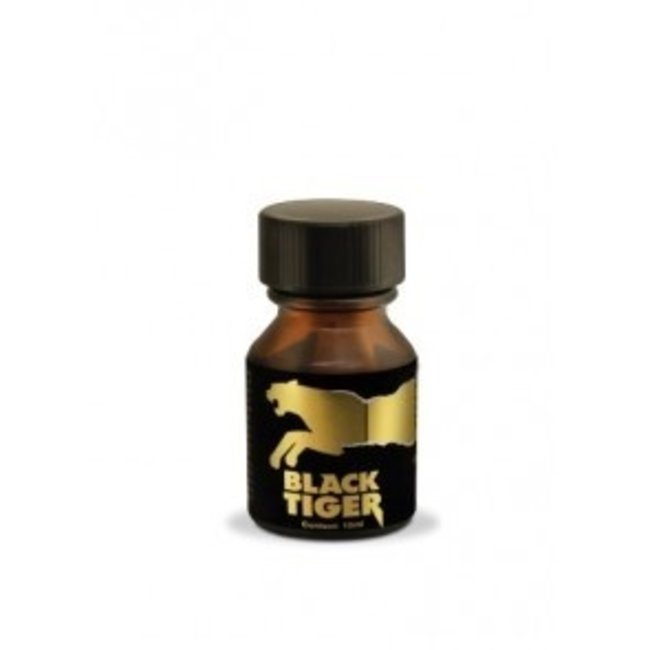 Poppers Black Tiger Gold Edition 10ml – BOX 18 bouteilles