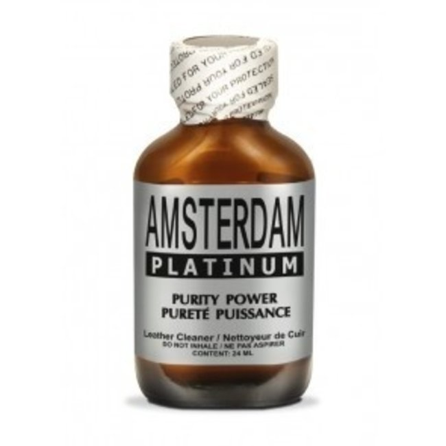 Poppers Amsterdam Platinum 24ml – BOX 24 bouteilles