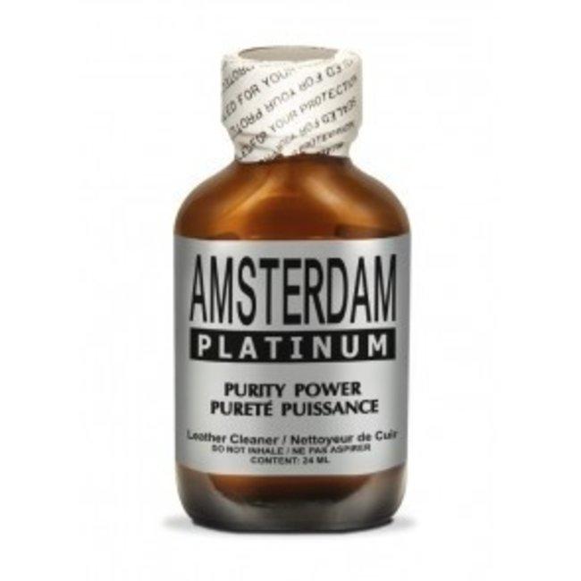 Poppers Amsterdam Platinum 24ml – BOX 24 flesjes