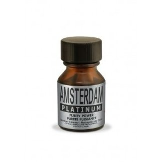Poppers Amsterdam Platinum 10ml – BOX 18 bouteilles