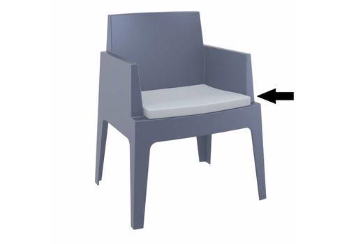 Box stoel Kussen - Lichtgrijs - Siesta