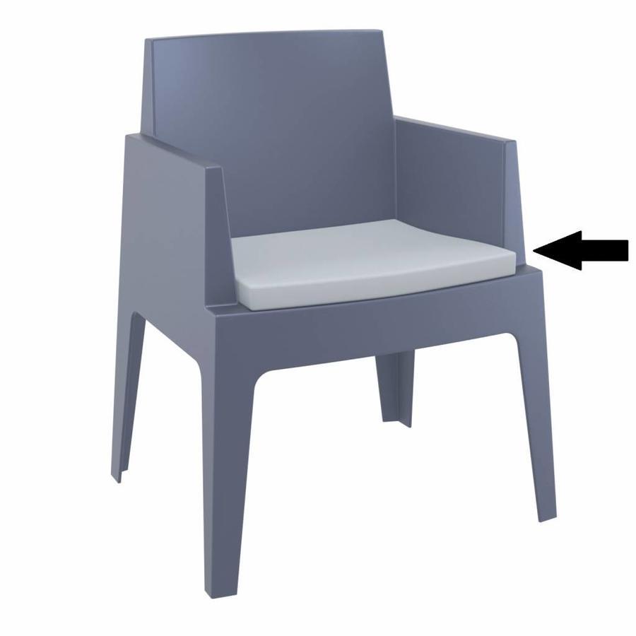 Box stoel Kussen - Lichtgrijs - Siesta-1