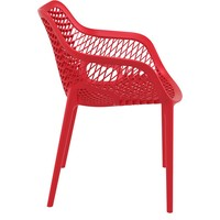 thumb-Tuinstoel - Air XL - Rood - Siesta-8