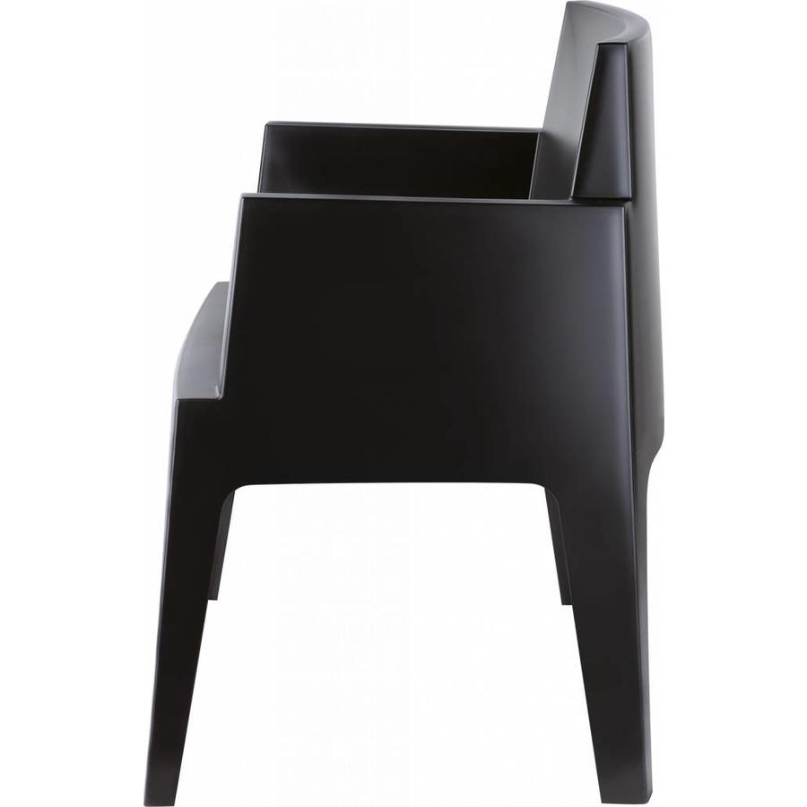 Tuinstoel - Box - Zwart - Siesta-5