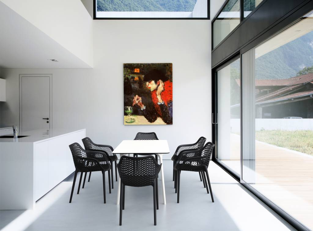 Tuinstoel air xl zwart siesta garden interiors