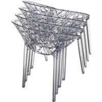 thumb-Tuinstoel - Crystal - Grijs Transparant - Siesta Exclusive-9