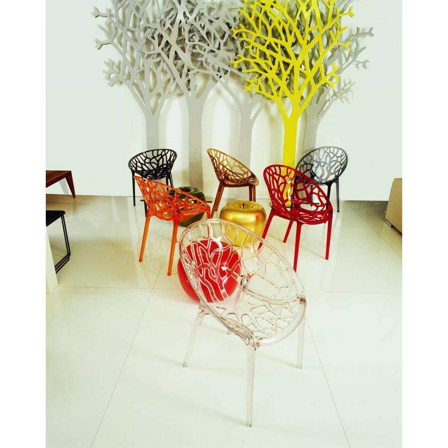Tuinstoel - Crystal - Grijs Transparant - Siesta Exclusive-6