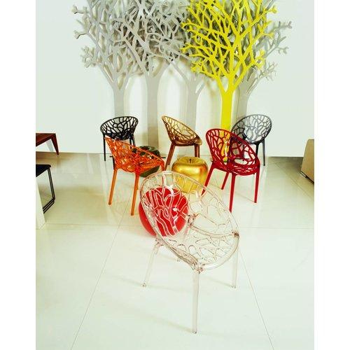 Siesta Exclusive Tuinstoel - Crystal - Zwart - Siesta Exclusive