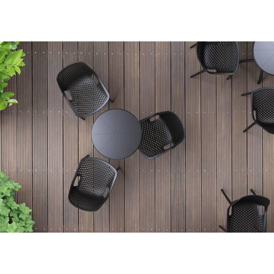 Tuinstoel - Air - Zwart - Siesta-3