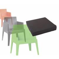 thumb-Boxstoel Kussen - Zwart - Siesta-3
