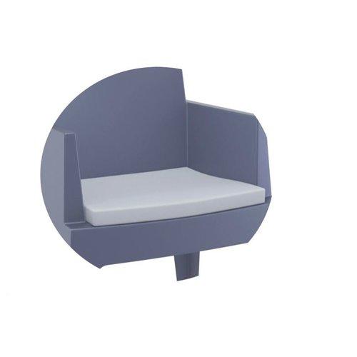Siesta  Box stoel Kussen - Lichtgrijs - Siesta