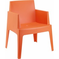 thumb-Tuinstoel - Box - Oranje - Siesta-1