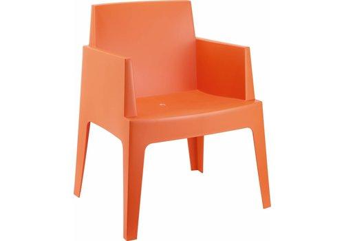 Tuinstoel - Box - Oranje - Siesta