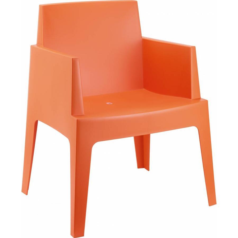 Tuinstoel - Box - Oranje - Siesta-1
