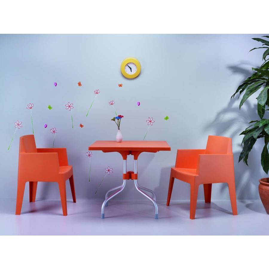 Tuinstoel - Box - Oranje - Siesta-4