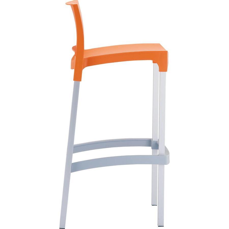 Stapelbare Barkruk - 75 cm - Gio - Oranje - Siesta-5