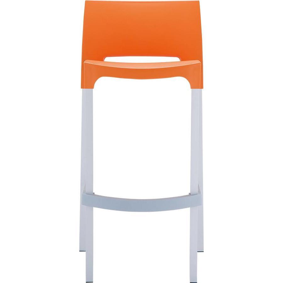 Stapelbare Barkruk - 75 cm - Gio - Oranje - Siesta-4