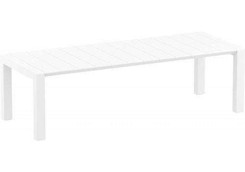 Tuintafel - Vegas XL - Wit - Uitschuifbaar 260/300 cm
