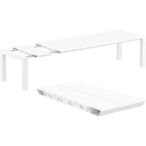 Siesta  Tuintafel - Vegas XL - Wit - Uitschuifbaar 260/300 cm