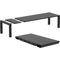 thumb-Tuintafel - Vegas XL - Zwart - Uitschuifbaar 260/300 cm-2