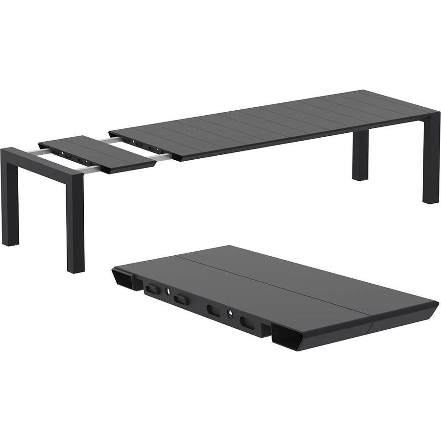 Tuintafel - Vegas XL - Zwart - Uitschuifbaar 260/300 cm-2